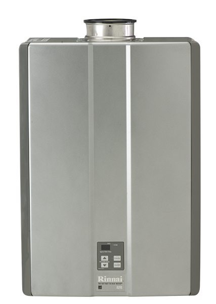 tankless water heater, in-demand water heater, rinnai water heater