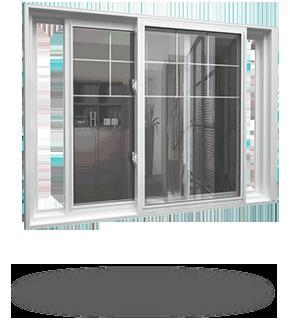 Windows Toronto, Double slider windows toronto